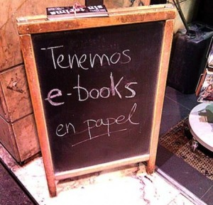 ebooks de papel
